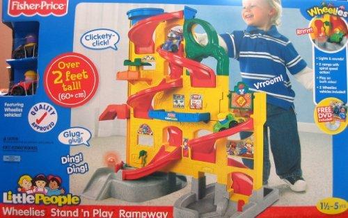 little people wheelies garage - 7