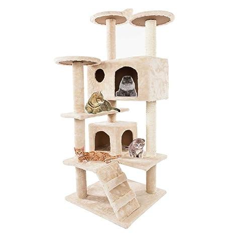 Amazon.com: Torre de actividad de varios niveles para árbol ...