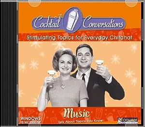 Cocktail Conversations:  Music (Jewel Case)
