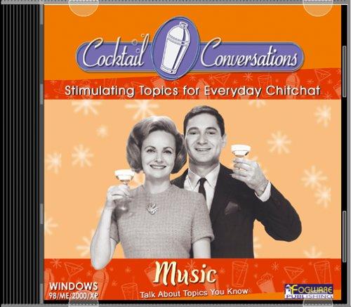Cocktail Conversations:  Music (Jewel Case) ()