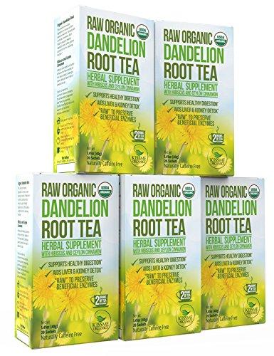 Organic Dandelion Root Detox Anti inflammatory