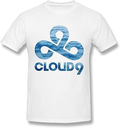 Camiseta Blanca cómoda para Hombre LOL Cloud 9 Team Design: Amazon.es: Ropa y accesorios