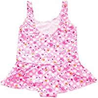 SYGA Medium Infant Girl's 1 Piece Swimsuit Swimwear Swimming Costume Baby Girls (Colors & Design May Vary)