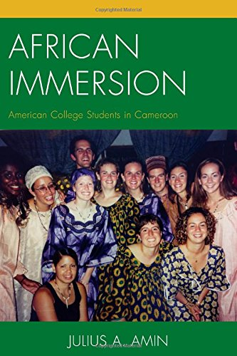 Search : African Immersion: American College Students in Cameroon