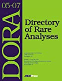 Dora 05-07 : Directory of Rare Analysis, Jocelyn Hicks, Donald Young, 1594250316
