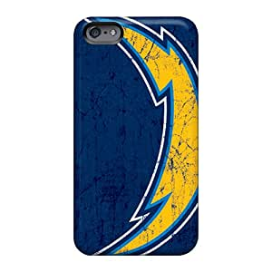 JohnPrimeauMaurice Apple Iphone 6s Shockproof Hard Cell-phone Cases Unique Design Fashion San Diego Chargers Series [qMr3984RIRh]