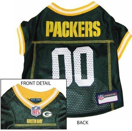 Green Bay Packers NFL – Jersey, con borde amarillo Camisa ...