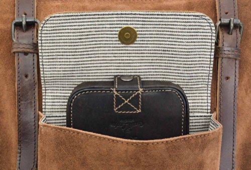17bbdba587fd8 ... Shopper Gusti Leder studio Tamina Ledertasche Henkeltasche Damen  Handtasche Damentasche Echt Leder Braun 2M61-26 ...