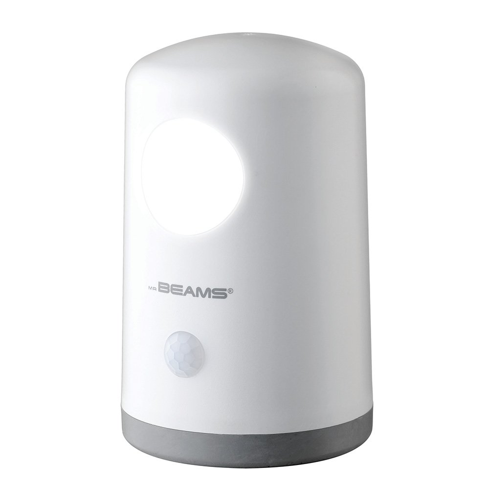 MR BEAMS/WIRELESS ENVIRONMENT MB750-WHT-01-02 Mr. Beams Stand Anywhere Motion Activated Night Light, White