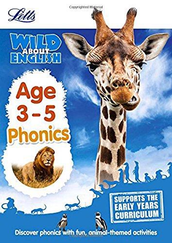 Read Online Letts Wild About – English ― Phonics Age 3-5 pdf epub