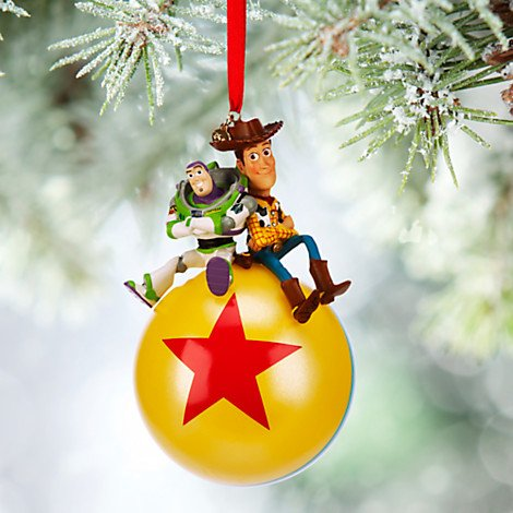 Disney Toy Story Buzz Lightyear and Woody Sketchbook Ornament Ridin High