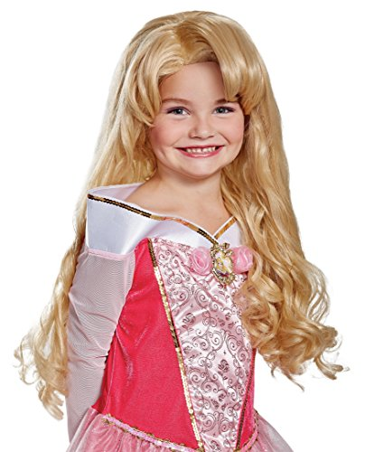 Aurora Deluxe Child Wig, One Size (Sleeping Beauty Child Wig)