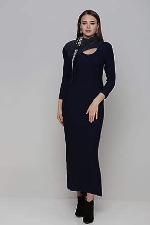 Maxi Long Sleeve Dress - Turkish Brands
