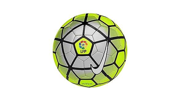 Nike Pitch LFP balón de fútbol, V/lobo gris, tamaño 4: Amazon.es ...