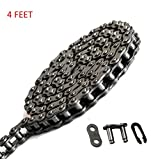 #1: Roller Chain #35, 4ft (122cm) with Master link Minibike Gokart chain