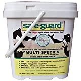 Safe-Guard 0.5% Pellets 5 lb Pail for Use in Horses, Swine, Cows, Zoo and Wildlife Animals