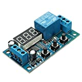 SODIAL(R) DC 12V Delay Time Switch Module Cycle Timer Control Relay Multifunction Circuit