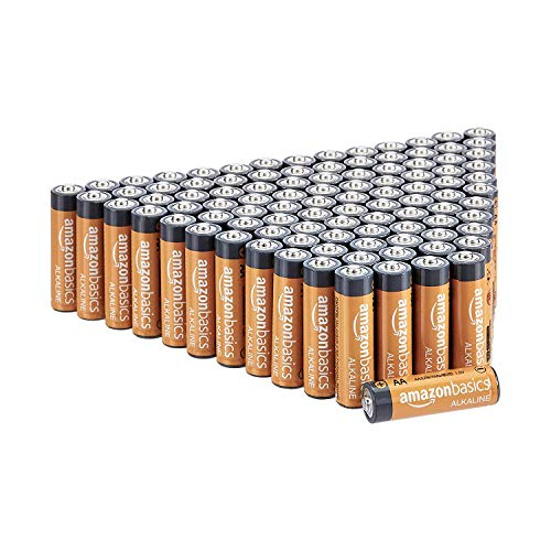 Best AmazonBasics AAA 1.5 Volt Performance Alkaline Batteries - Pack of 100 (Appearance may vary)