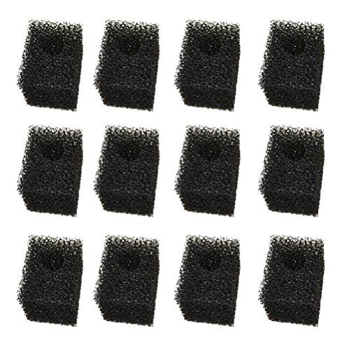 Replacement Reptology Internal Filter 45 Bio-Sponge Foam (12 Filters)