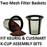 2-Pack Reusable K-Cup Filter Basket for Keurig My K-Cup
