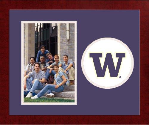 (Campus Images NCAA Washington Huskies University Spirit Photo Frame (Vertical))