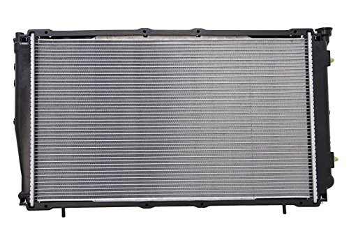 Radiator - Pacific Best Inc. For/Fit 2152 1998 Subaru Forester 4Cy 2.5L Plastic Tank Aluminum Core