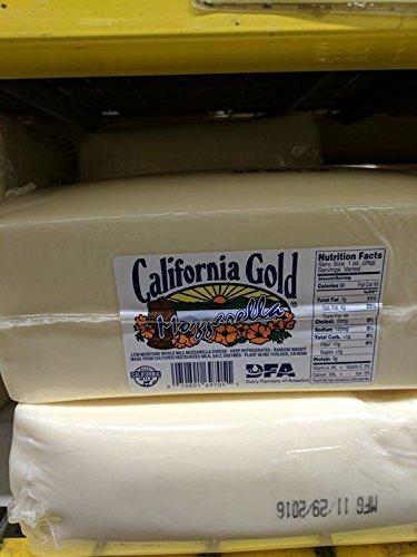 California Gold Whole Milk Mozzarella Cheese 5 (Milk Mozzarella)
