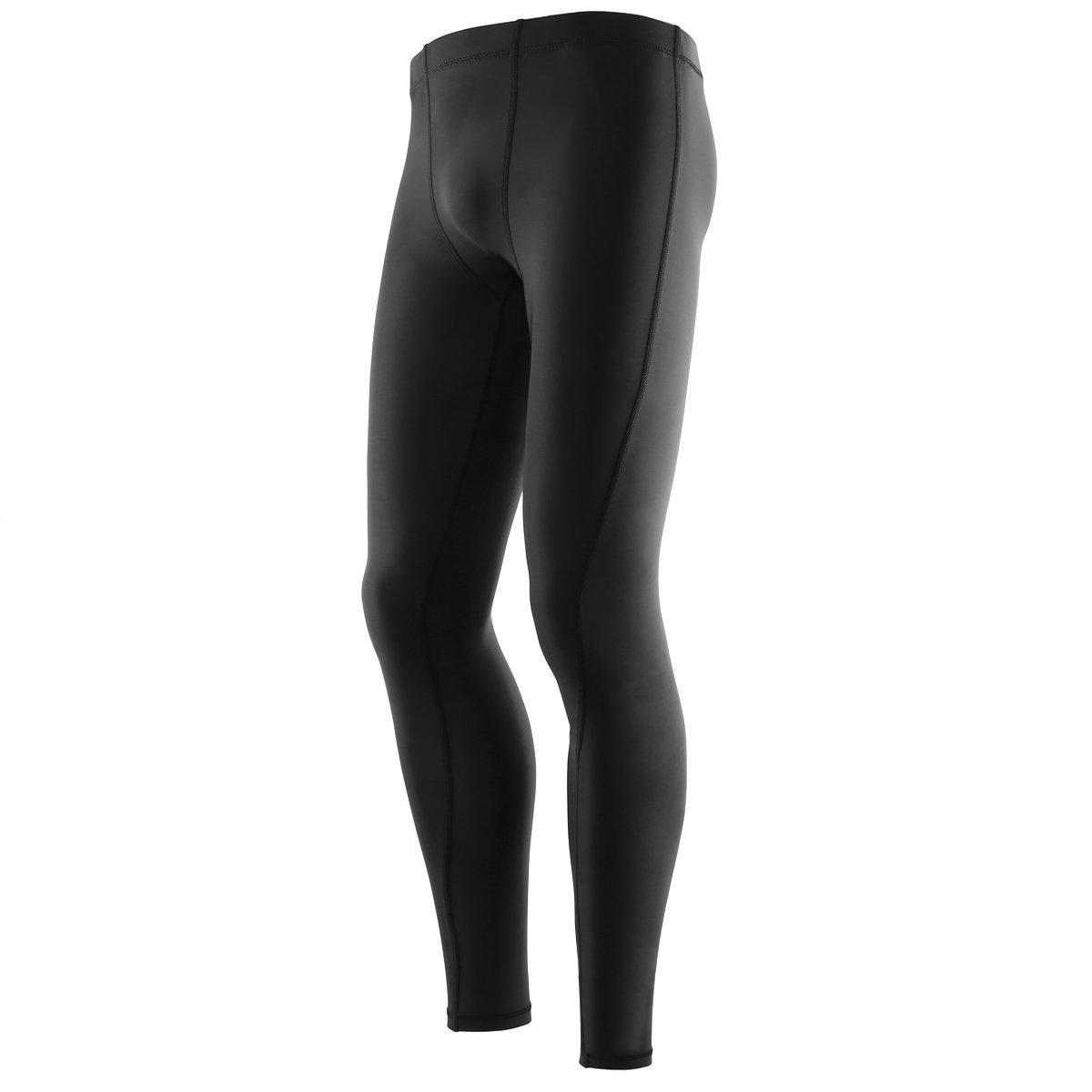 YAHA Mens Cool Dry Compression Base layer Pants Legging Long Tights
