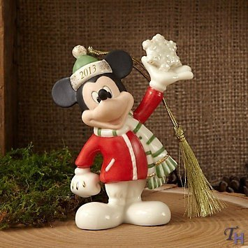 Lenox 2013 Mickeys Snowflake Surprise Ornament