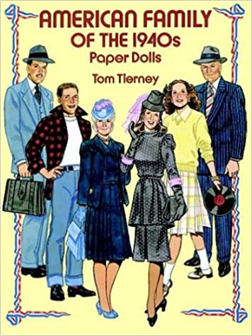 American Family of the 1940s Paper Dolls (Dover Paper Dolls