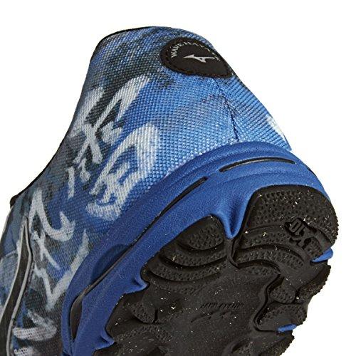 Chaussures Blue Mizuno Hayate Wave Homme Wave Mizuno YxY0wqIZ