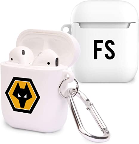 Official Personalised Wolverhampton Wanderers FC Initials Airpod Case