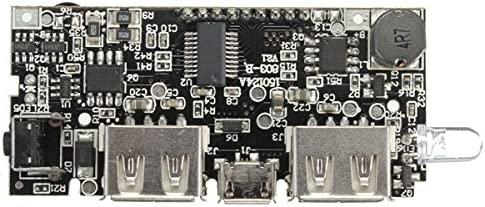 Ladicha Dual Usb 5V 1A 2.1 Un Banco De Alimentación Móvil 18650 Cargador De Batería Pcb Módulo Placa