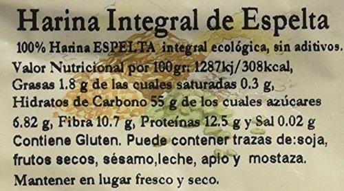 Bionsan Harina de Espelta Integral - 6 Paquetes de 500 gr - Total: 3000 gr: Amazon.es: Alimentación y bebidas