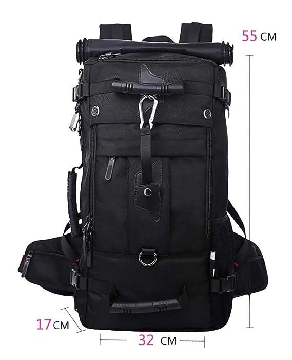 ThreeH Duradero Ordenador portátil Mochila Bolsa de Viaje al Aire Libre para Excursionismo Alpinismo PA014Black: Amazon.es: Equipaje