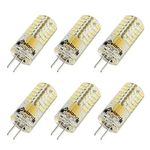 Led Capsule (Poeland G4 LED Light Bulbs AC/DC 12V 2W Pack of 6 White)