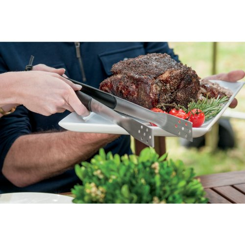 WEBER-STEPHEN PRODUCTS Essentials Tongs, Stainless Steel & Grip Handle