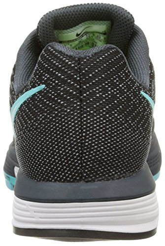 Nike Womens Air Zoom Vomero 10 Scarpa Da Corsa Nero / Verde Acqua / Bianco