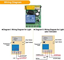 Wireless Remote Control Light Diagram | Wiring Diagram on