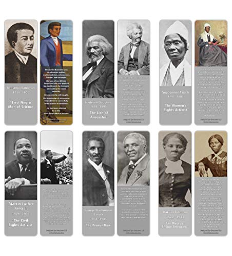 Creanoso Historical African Americans Bookmark product image