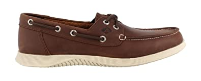 Men's Leeward Boat Shoe Linen 11 M