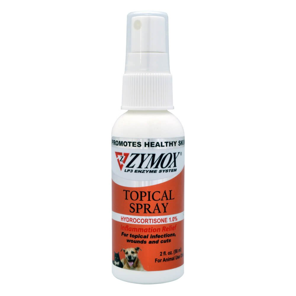 Zymox Pet Spray with Hydrocortisone, 2-Ounce by Pet King Brands
