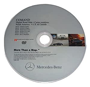 Latest maps update for mercedes benz ntg1 2016 for Mercedes benz navigation update 2016