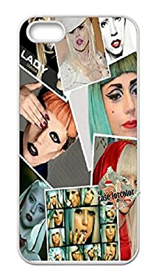 [case forcolor]:Lady Gaga Hard Case for Iphone 5 5S.