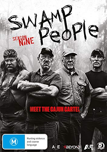 Swamp People Season 9 | NON-USA Format | PAL | Region 4 Import - Australia