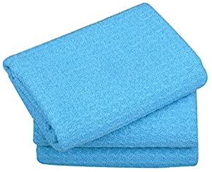 Sinland 3-pack Microfiber Waffle Weave Drying Dish Cloths Kitchen Towel Facial Cloth Washcloth