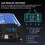 Power Inverter 1100 watt DC 12V to AC 120V Modified