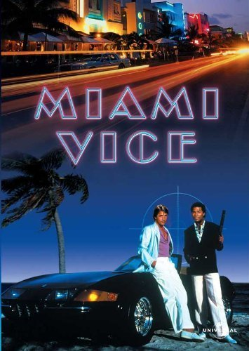 Miami Vice (TV) Poster (36 x 24 Inches - 90cm x 60cm) (1984) Style F -(Don Johnson)(Philip Michael Thomas)(Saundra Santiago)(Michael Talbott)(John Diehl)(Gregory Sierra)