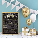 50 Years Ago Birthday or Wedding Anniversary Poster