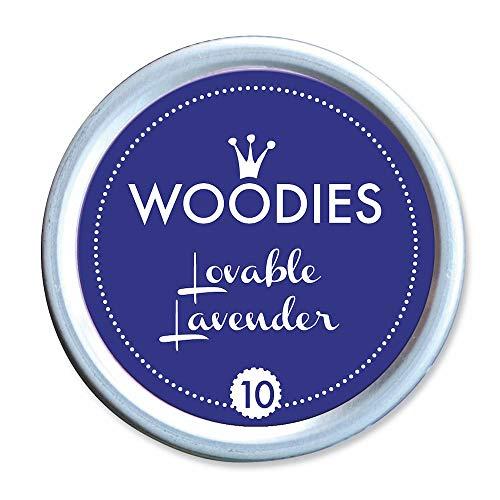 - Woodies Dye-Based Ink Tin-Lovable Lavender